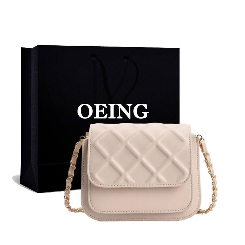 Evening Bags Diamond Lattice Embossed Shoulder Adjustable Strap Crossbody Ladies Purses Female Shoppers Handbags 2021
