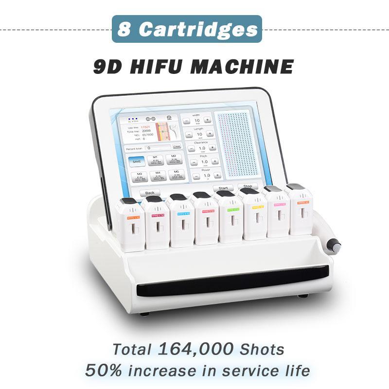 المهنية 9D 3D HIFU آلة الوجه رفع الجلد تشديد عالية كثافة التركيز الموجات فوق الصوتية معدات تجميل معدات صحية استخدام التجاعيد إزالة مكافحة الشيخوخة