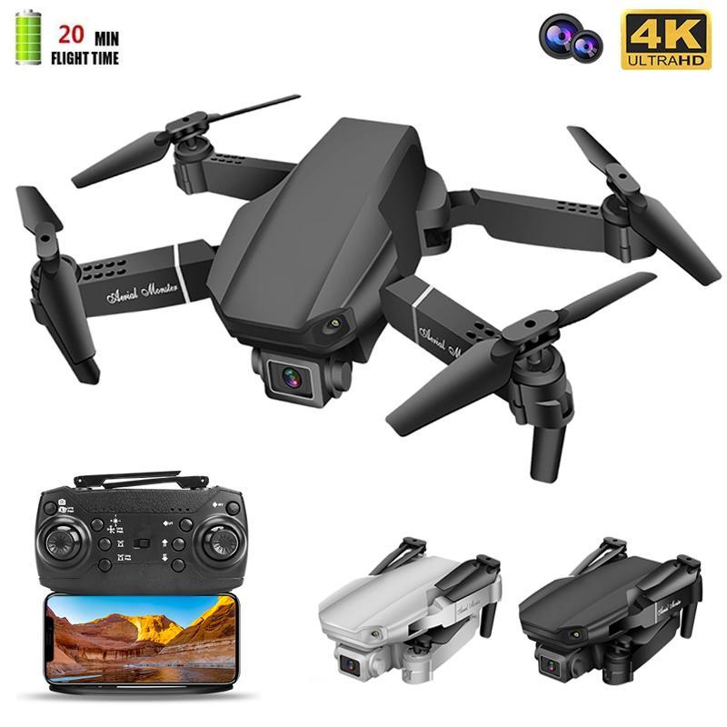 NEUE E98 PRO MINI DRONE 4K Professionelle HD-Kamera Wifi FPV DRONE Quadcopter Drohnen Flying RC Toys für Jungen Teenager Kind 210325