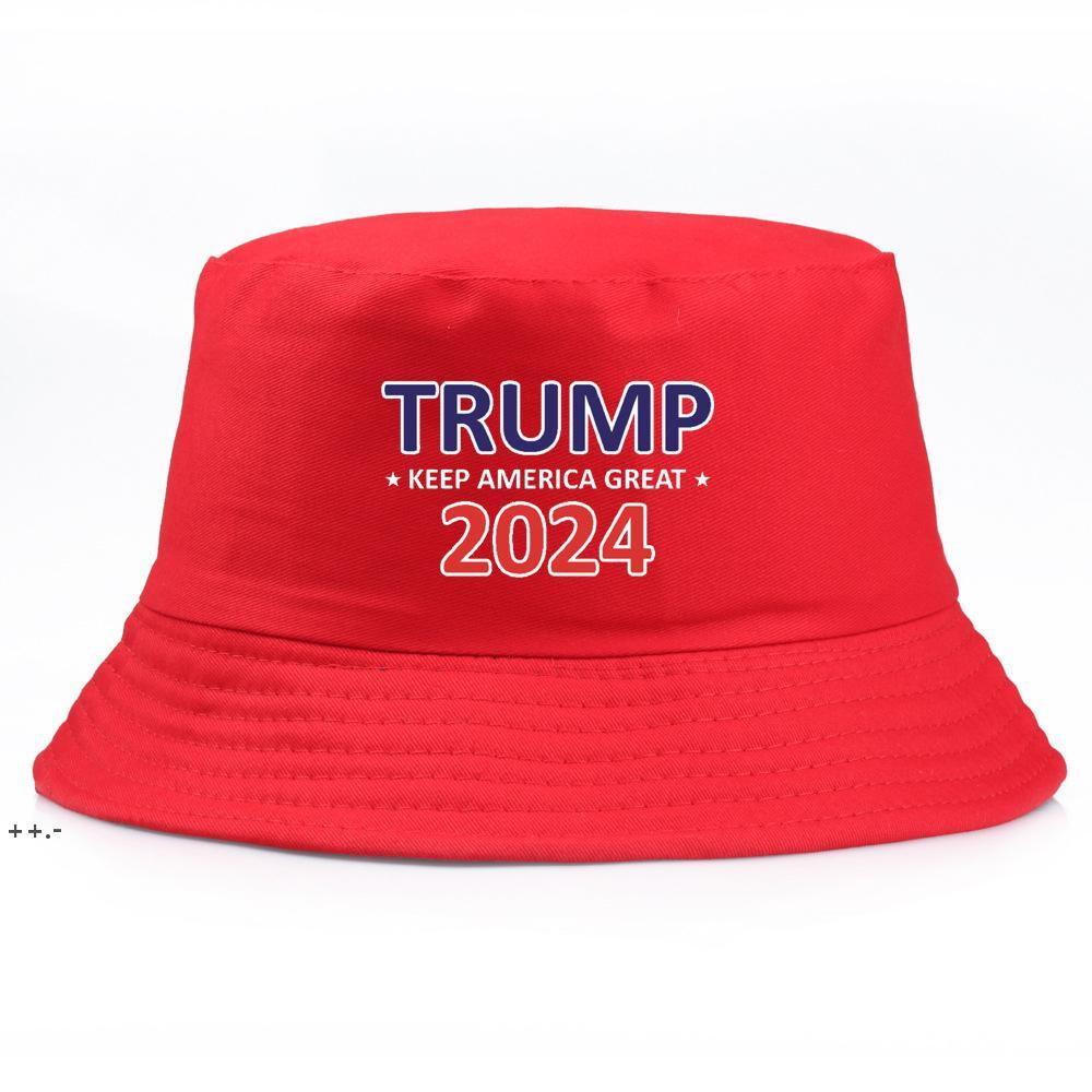 Trump 2024 Hut Eimer Sun Cap USA Präsidentschaftswahlen Fischer Hüte Wahlen Baseballkappen NHE8644