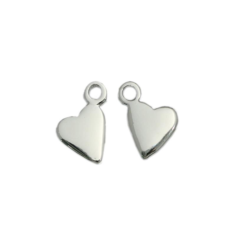 2019 Beadsnice Handmade Jewelry Heart Pendant Heart Findings Small
