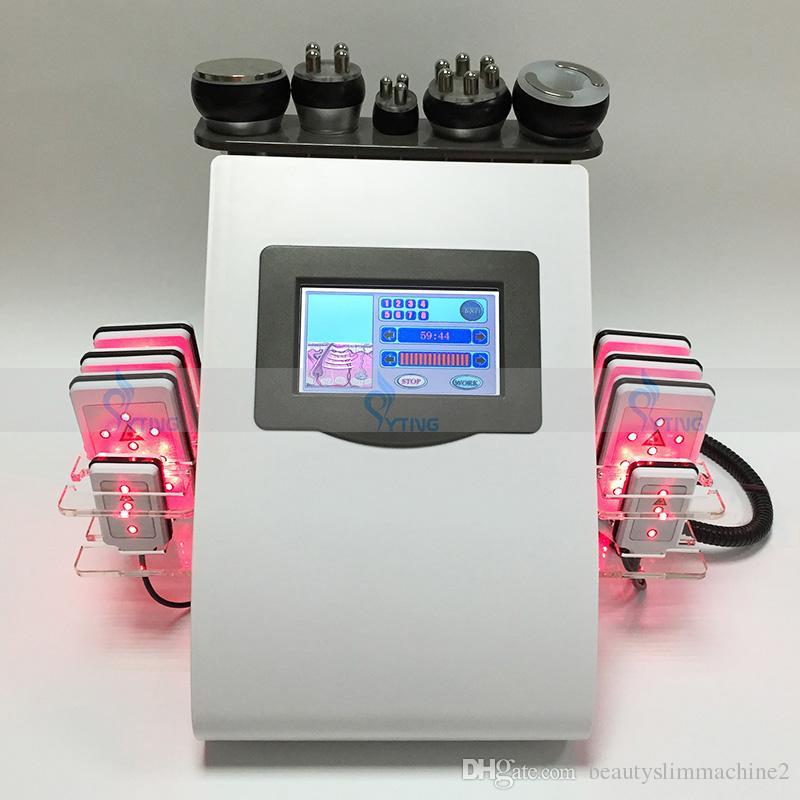 Новая модель лазерной липо-кавитации RF-липосакция Вакуумная машина для похудения Уход за кожей Лифтинг-салон Spa Ультразвуковой массаж для удаления целлюлита Массаж тела