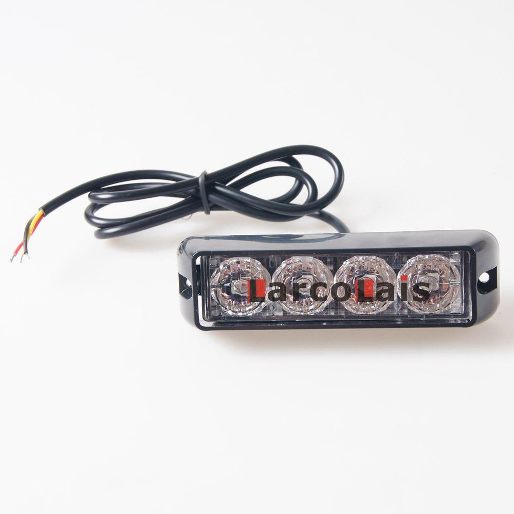 2X4 LED Suv Auto-LKW-Röhrenblitz-Blitzlicht-wasserdichtes Notwarnlicht