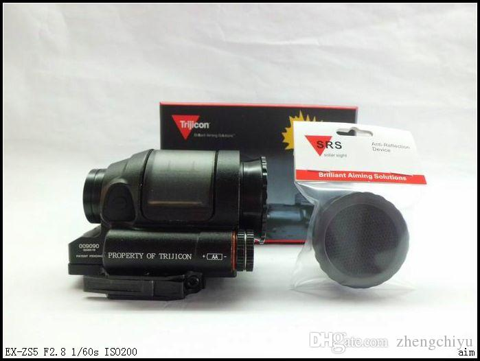 أسلوب trijicon التكتيكية srs 1.75 وزارة الطاقة الشمسية الأحمر نقطة نطاق البصر نطاق بندقية للصيد الادسنس الألوان ألعاب
