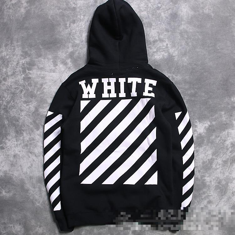 2017 Brand Men Kanye West Off White Virgil Abloh Pyrex Hoodie ...