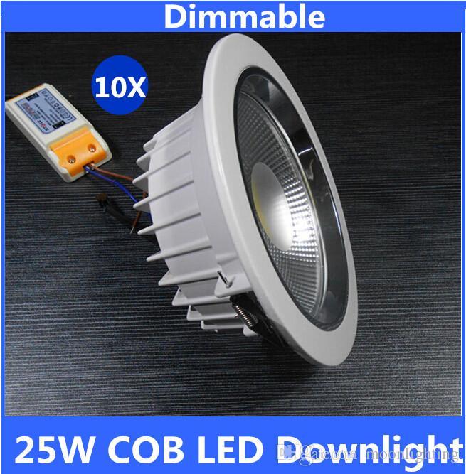 عالية الطاقة جودة عالية عكس الضوء 25W البوليفيين الصمام النازل لمبة LED مصباح 110V 220V LED الكوز بقعة النازل مصباح المصباح