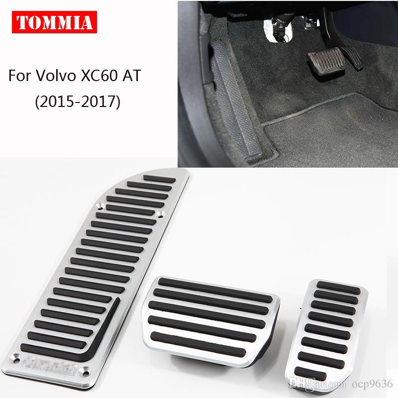 Для Volvo XC60 на 2015-2017 педаль крышка топливный газ тормоз подставка для ног корпус без бурения автомобиль-стайлинг