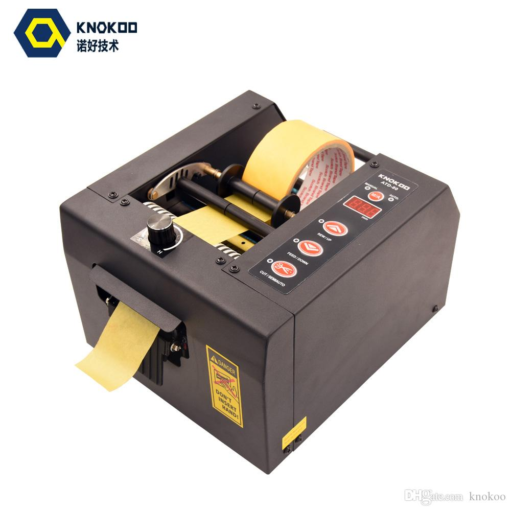 Heavy Duty Automatic Packing Adhesive Tape Dispenser ATD-80 Dispenser Cutter Machine for 8- 80mm Width Tape