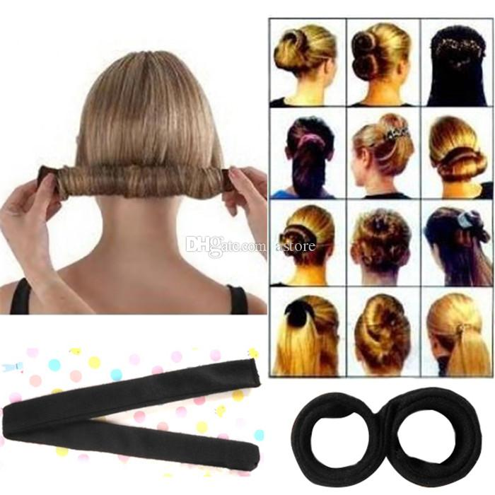 Hot Sales Fashion Korean Style Hair Styling Tool Hair Bun Maker ...