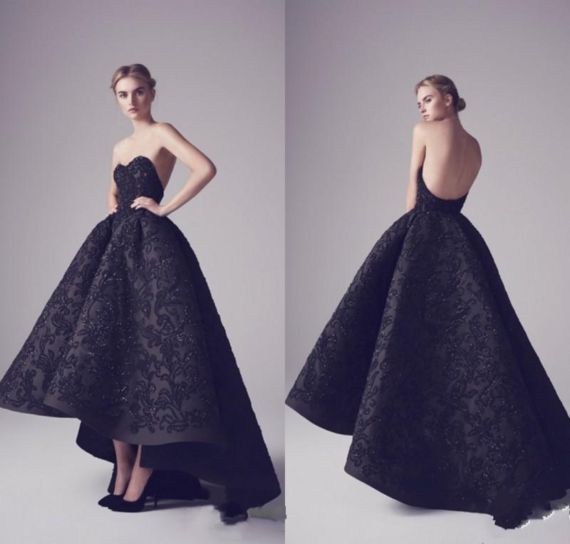Ashi Studio 2016 Black Evening Dresses