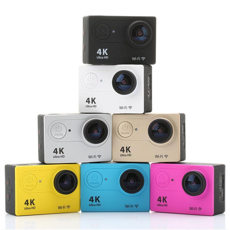 액션 카메라 EKEN H9 울트라 HD 4K WIFI 1080P / 60FPS 2.0 LCD 170D 렌즈 헬멧 캠 수중 방수 GO 프로 카메라 SJ4000 스타일