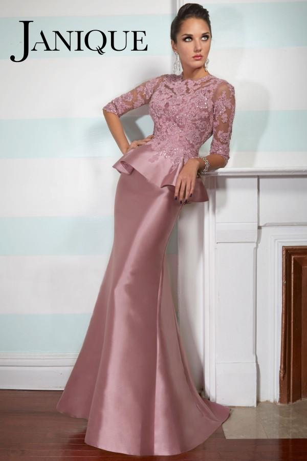 Peplum Evening Gowns