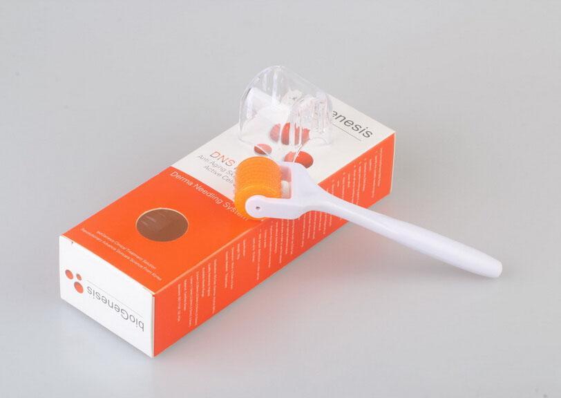 DNS Derma Roller med 200 Neddles Skin Roller Micro Needle Midi Roller för hudvård DHL Gratis