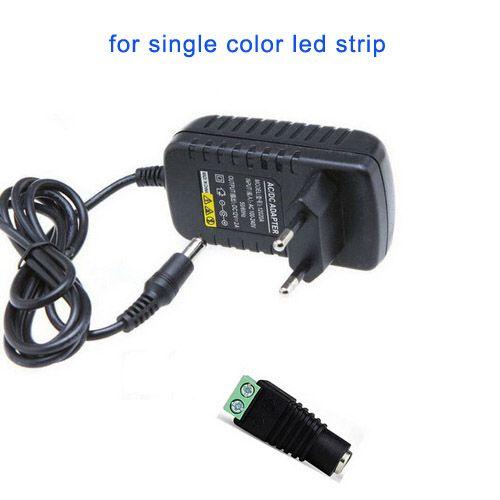 12V DC 2A LED محول محول التيار الكهربائي + أنثى موصل للSMD 3528 5050 LED فليكس قطاع بار الأنوار الإدخال 110V 220V 230V 240V DHL