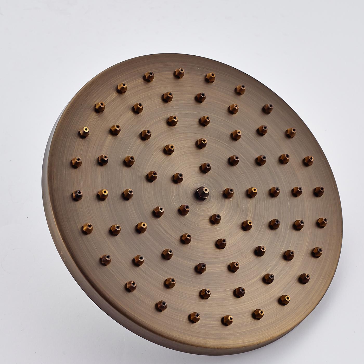 """Haut de gamme classique de bonne qualité en laiton Antique 8 """"douche de pluie"""