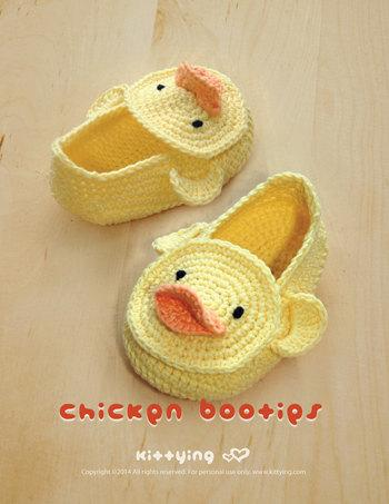 crochet baby shoes handmade Duck Duckling Baby Booties Preemie Socks Animal Shoes Yellow Duck 0-12M cotton yarn custom