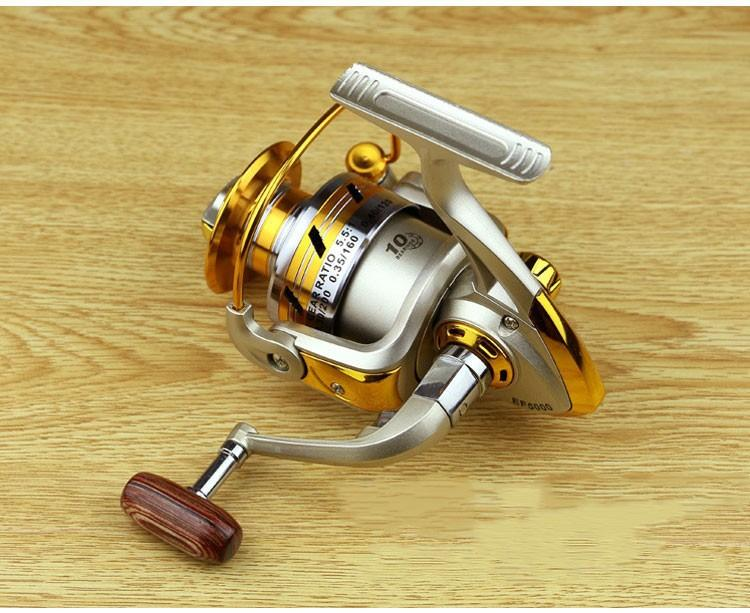 1x Exclusive quality All Metal spinning fishing reel line winder speed ratio 5.11 to Ocean Sea boat Rock Ice fishing tackle (1)