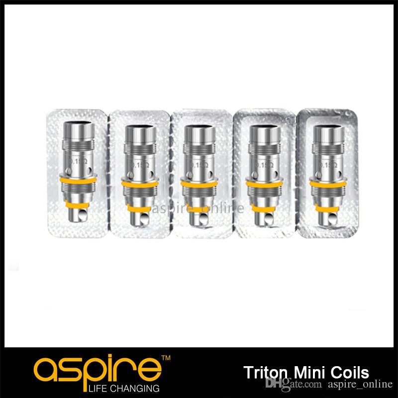 Аутентичные Aspire Тритон мини замена Атомизатора головки катушки 0,15 ом 1.2 ом 1.8 ом катушки для Aspire Тритон мини Тритон мини Наутилус мини