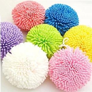 الملونة الحلوى الملونة حمام الكرة حمام زهرة حمام فرشاة لطيف جولة الإسفنج MY08