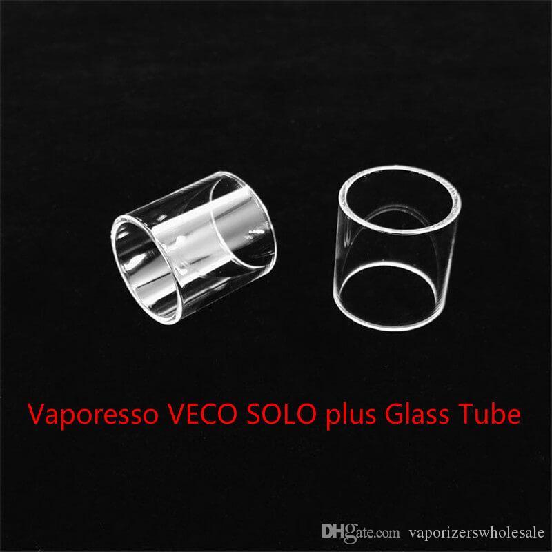 Toptan VECO SOLO artı DHL Ücretsiz Kargo satın ucuz VECO SOLO Artı Fatboy cam tüp ile Tank Değiştirme Cam Tüp