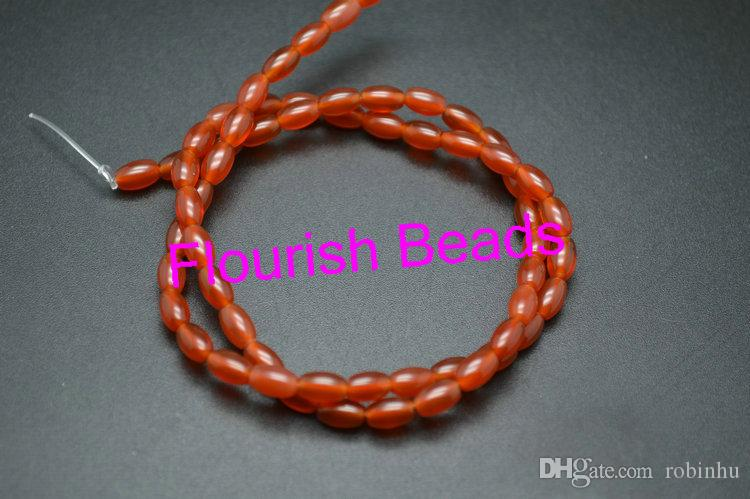 "Bracelet Cornaline 6 mm /""Large/"""