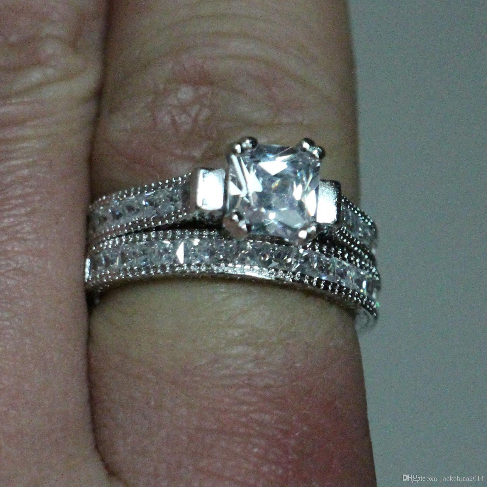 New Wedding Ring Sets Size 10