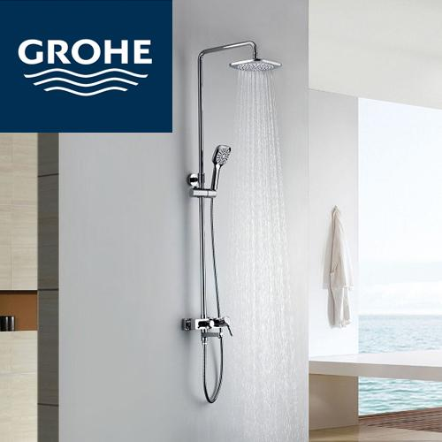 grohe regendusche elegant regendusche grohe duschbrause grohe u regendusche u ecosmart with. Black Bedroom Furniture Sets. Home Design Ideas