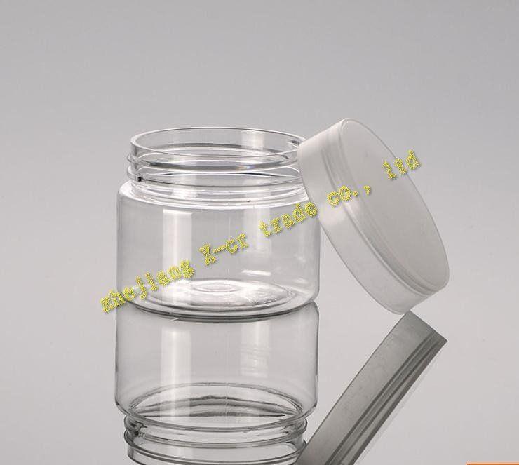 Ücretsiz kargo 50 adet / grup kapasiteli 50g yüksek kaliteli plastik krem kavanoz kozmetik kaplar, kozmetik ambalaj, kozmetik kavanoz