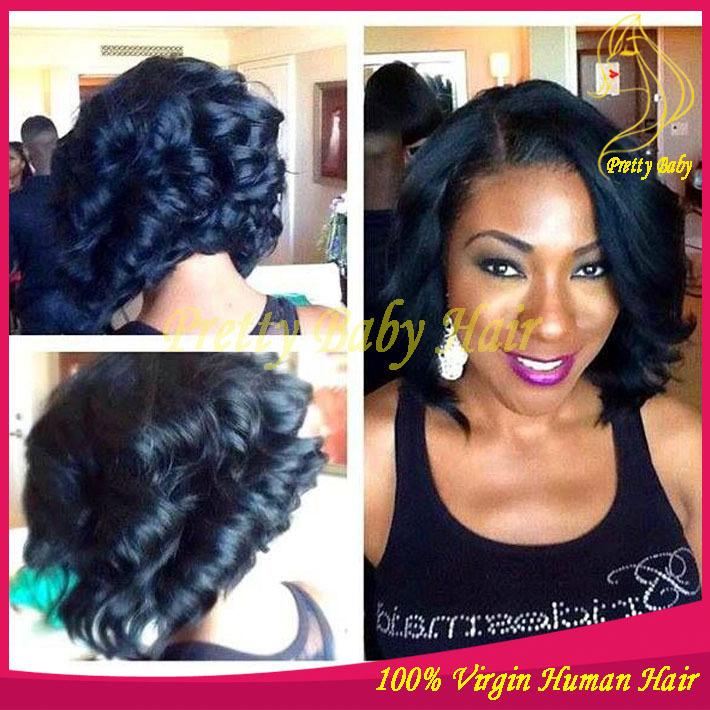 Fashion Bob Lace Front Wig & Full Lace Wig