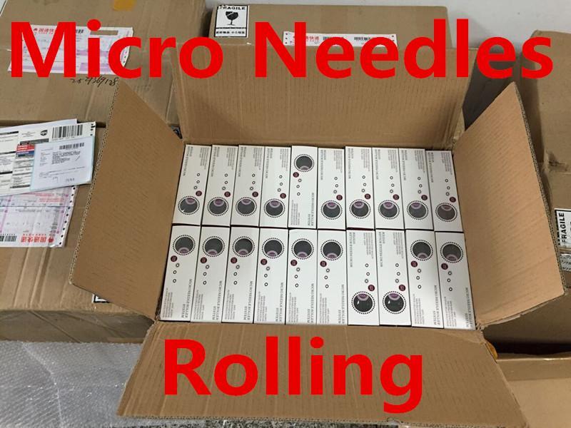 MNR 540 Micro Agulhas Derma Rolling System Micro Agulha Roller Dermatologia Terapia da Pele Sistema de Saúde Beleza Equipamentos Frete Grátis DHL
