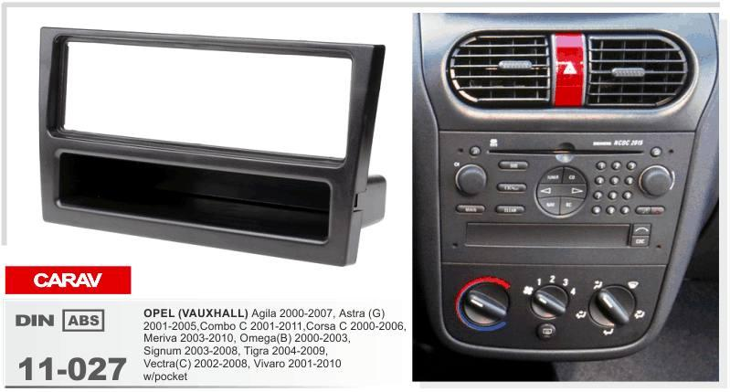 Dark Grey radio fascia panel Vauxhall Corsa C car stereo Facia surround