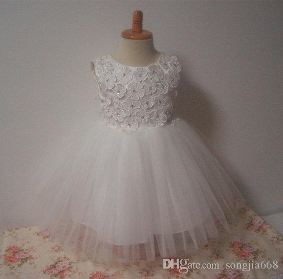 2020 New Bud Шелковое Платье isHighquality Платье Тюль Пасхальный Хэллоуин Платье Девушки цветка Для Свадьбы