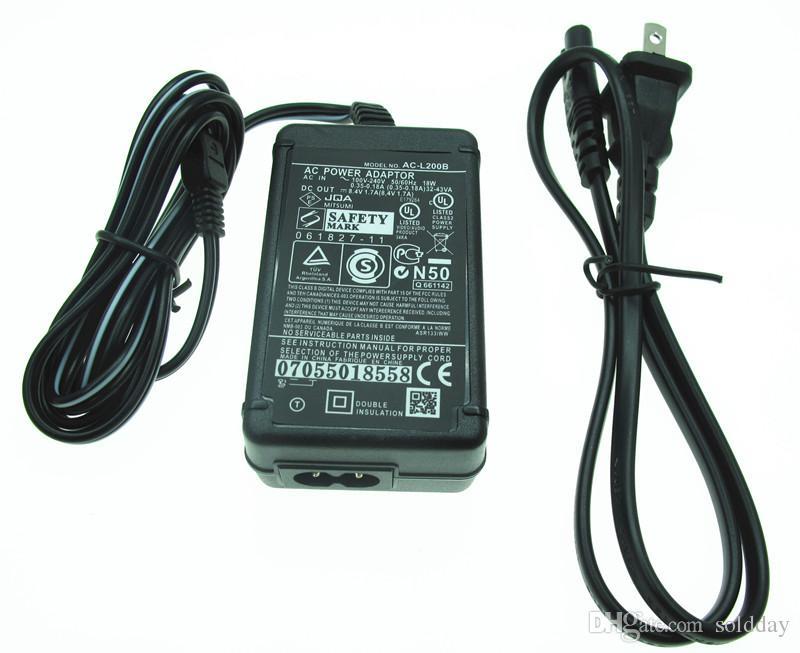 Cable cargador Adaptador de Alimentación de CA PARA SONY Handycam DCR-HC1000 DCR-SR47E HDR-CX360V