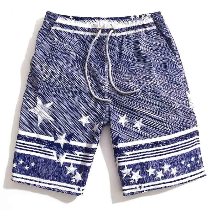 2015 summer brand Men's beach board shorts Swimwear sports cotton loose beach swimming boardshorts surt beachwear Quick Dry Top Quality