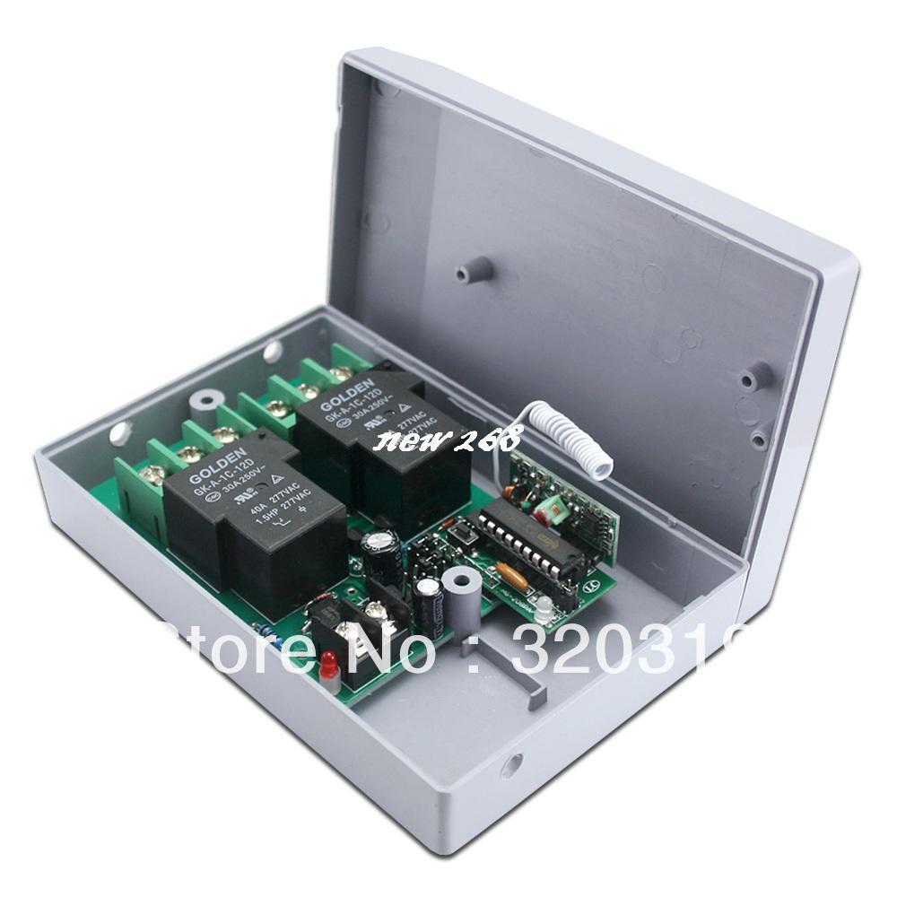 12V 2Channel Way Motor Remote Controller