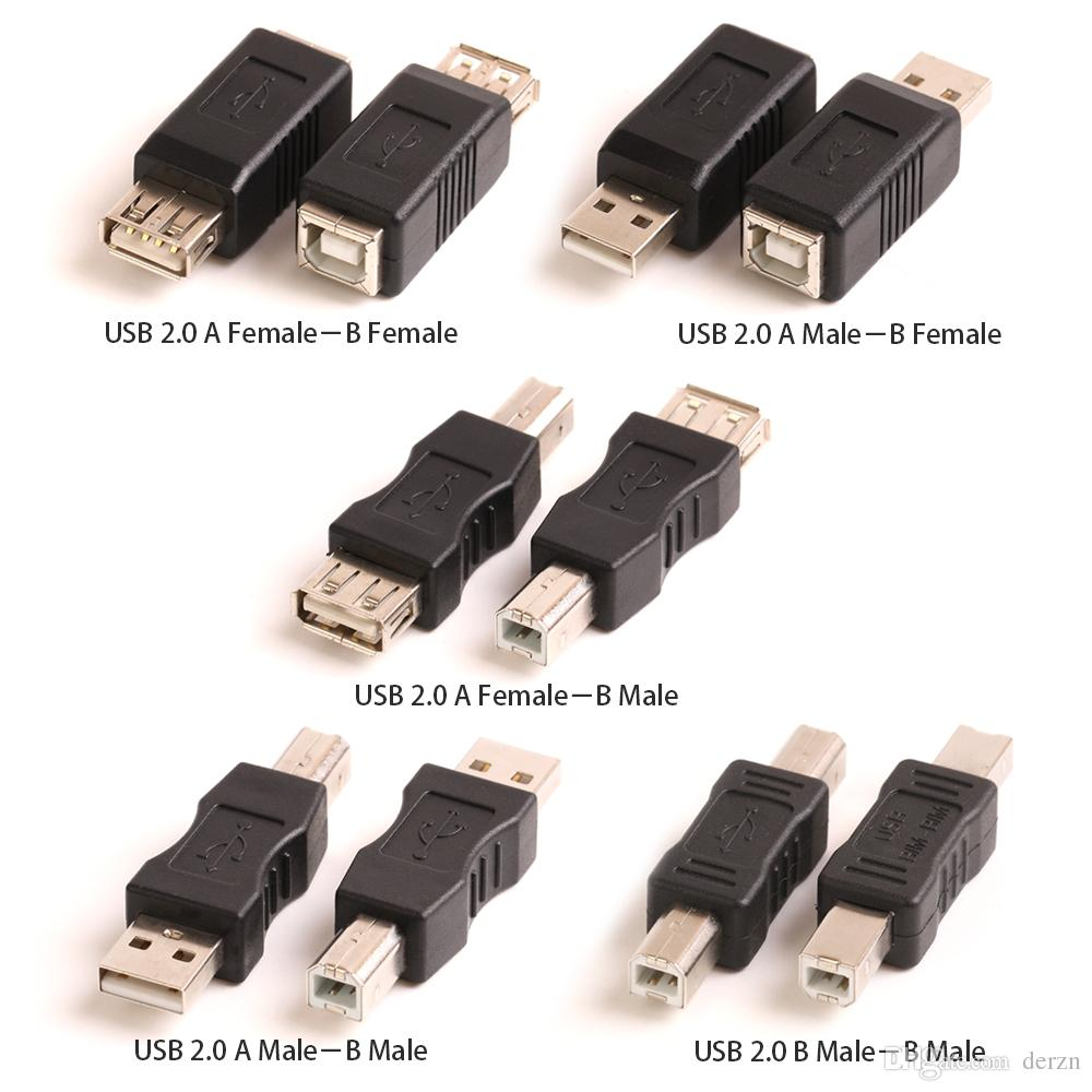 Electronics Scanner USB 2.0 Adapter Type A Female To Male Connector Converter