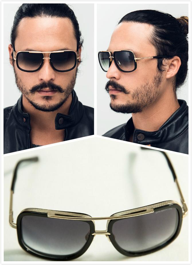 d2a2995cca98 Dita Sunglasses Men Dita Mach One Sunglasses Women Brand Designer Dita  Sunglasses Sun Glasses Female 18K Black Gold Vintage Dita Cheap Designer  Sunglasses ...