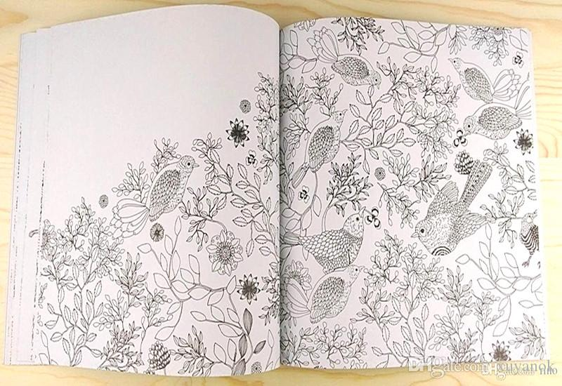 DREAM Korean Version Adult Colouring Books Dream High Quality Paper ...