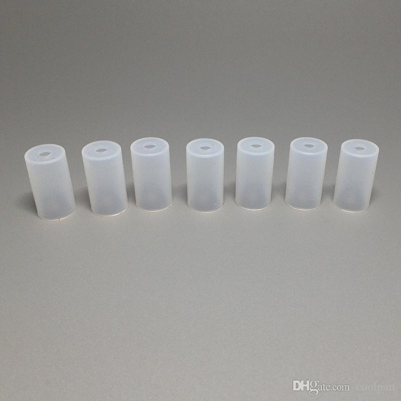 Kunststoff Test Tropfspitzen Kappen Einweg Tipps Zerstäuber Abdeckung für ego CE4 CE5 CE6 Clearomizer E-cig