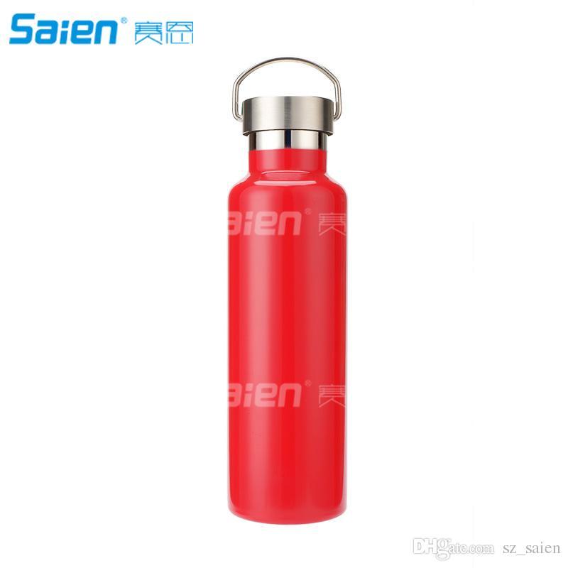 35 Unzen (1000 ml) Edelstahl-Wasserflasche, nicht isolierte BPA-freie auslaufsichere Einzeldauer-Sportflasche-Krug für Radfahrer, Läufer, Wanderer