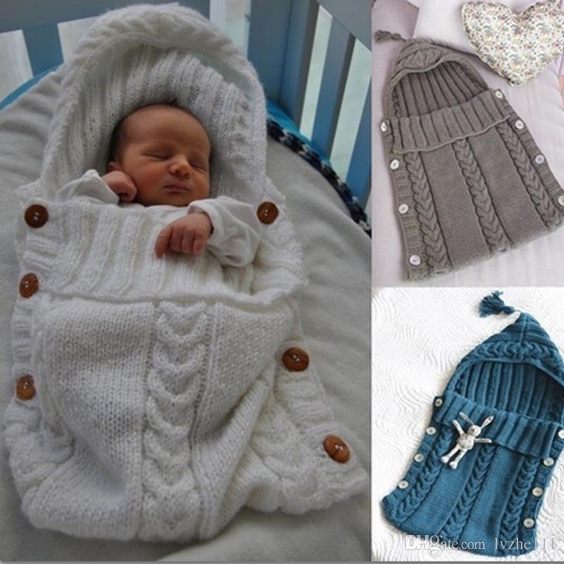 Newborn Baby Kids Infant Swaddle Wrap Swaddling Blanket Soft Warm Sleeping Bag