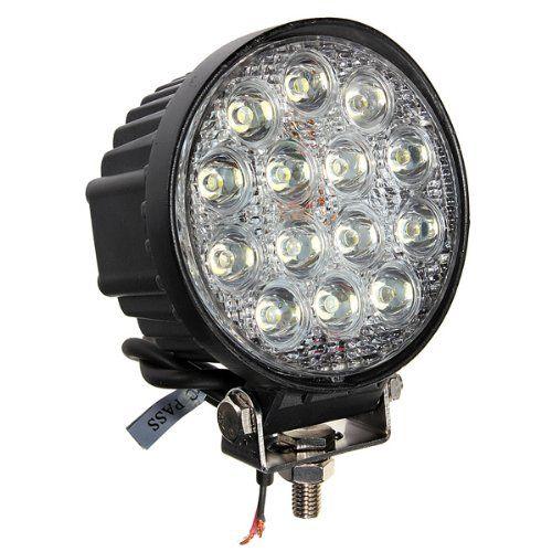 14 * LED 42W veicolo auto ha condotto la lampadina del lavoro LED della nebbia LED impermeabile IP67 6000K lega di alluminio per SUV ATV fuoristrada camion spedizione gratuita