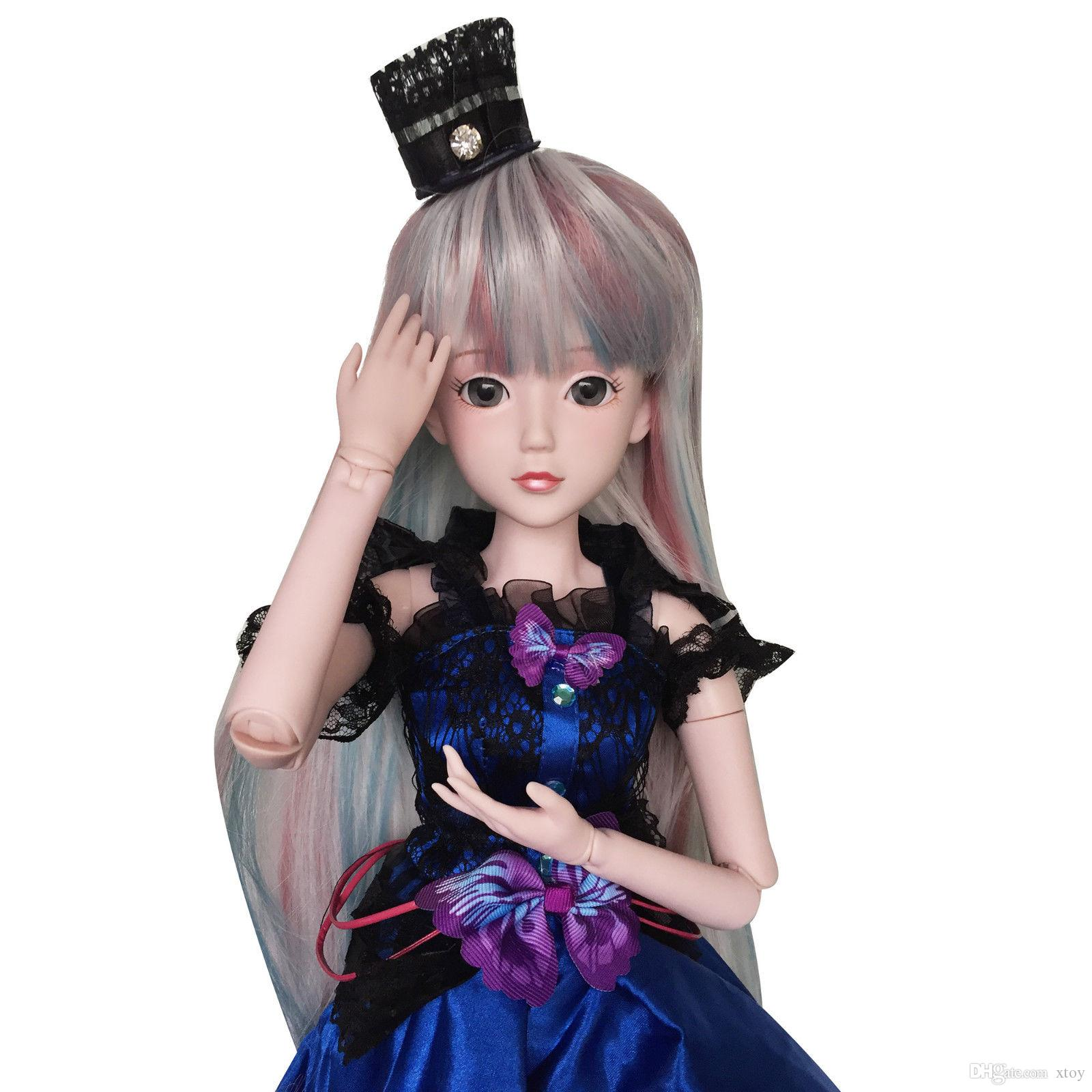 """Makeup Accessory Black 1//3 SD Doll 60cm 24/"""" jointed dolls Toy Action Figure"""