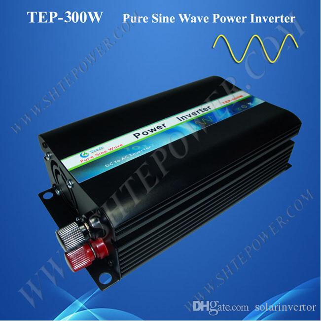 o poder máximo 600w do seno puro avaliou o poder 12v dc 12v ao inversor da CA 120v para o painel solar