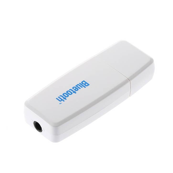 Bluetooth Receiver 3.5mm Stereo Audio Music USB Bluetooth Music Receiver Adapter for Speaker iPhone Mp3