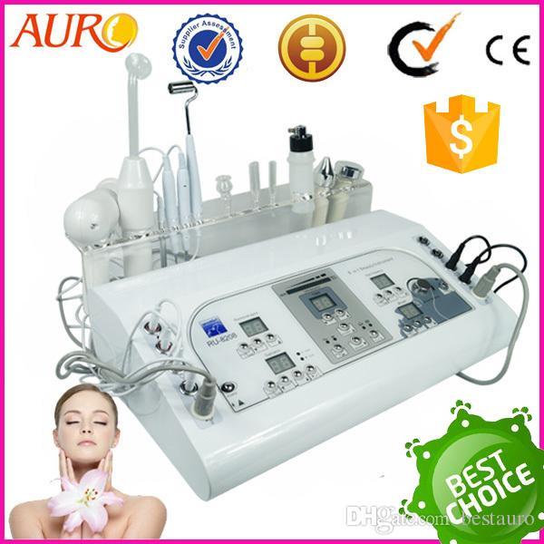 Au-8208 Best Choice acne treatment 7 in 1 skin rejuvenation skin care massager equipment for sale