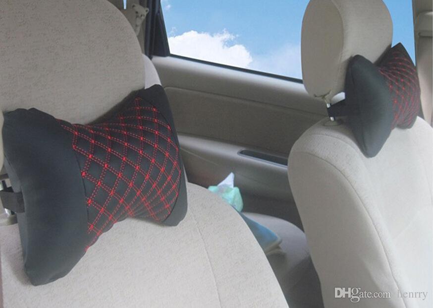 設置車のヘッドレスト車の枕木31-1A 645枕コンフォートヘッドレストのための20pcsの後頭骨ワイン