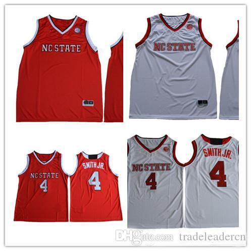 Пользовательские мужские NC State Wolfpack колледж баскетбол красный белый персонализированные сшитые любое имя любое количество индивидуальные 4 трикотажные изделия S-3XL