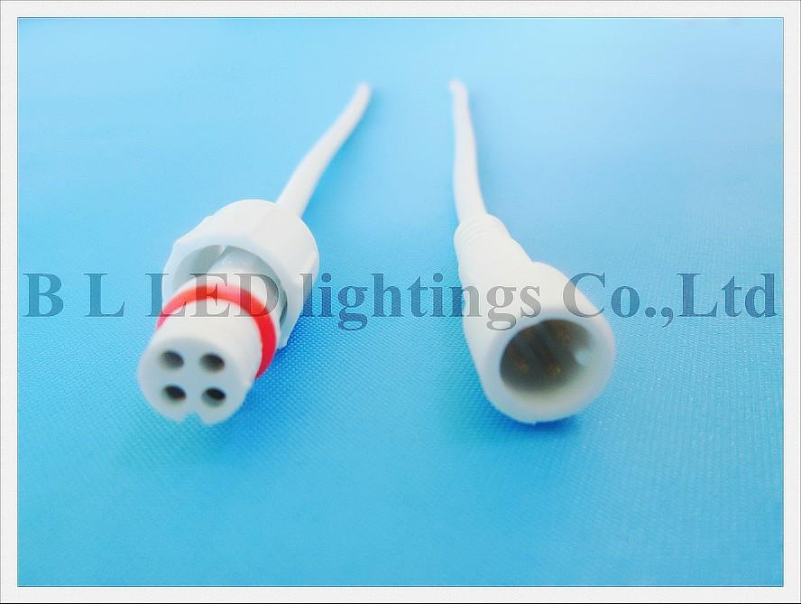 Best Wholesale 4 Pin Waterproof Mini Led Wire Cable Connector Male ...