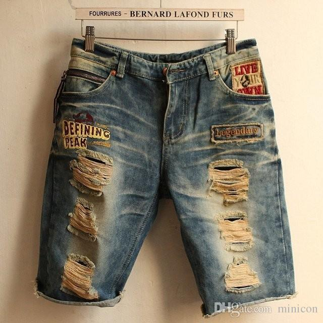 Jeans High Quality Robin Jeans Shorts Men 2015 Fashion Designer